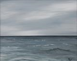 Northsea skyline by Marco Titucci, Painting, Acrylic on canvas